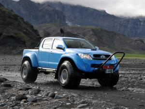 Arctic Trucks Toyota Hilux AT44 KNGS South Pole Expedition 2010 года